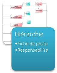 Hierarchie, fiche de poste et responsabilité Workey